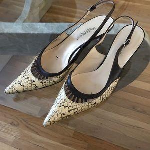 Authentic Dolce & Gabbana alligator skin heels